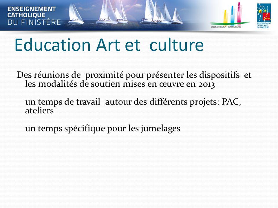 Education Art et culture Des réunions de proximité pour présenter les dispositifs et les modalités de soutien mises en œuvre en 2013 un temps de trava