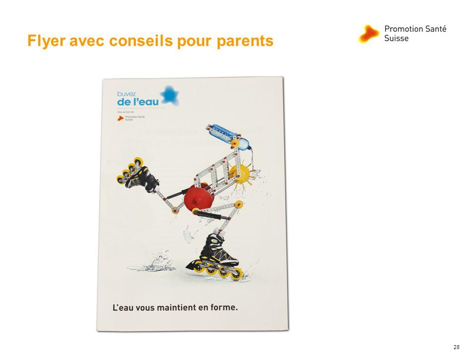 Flyer avec conseils pour parents 28