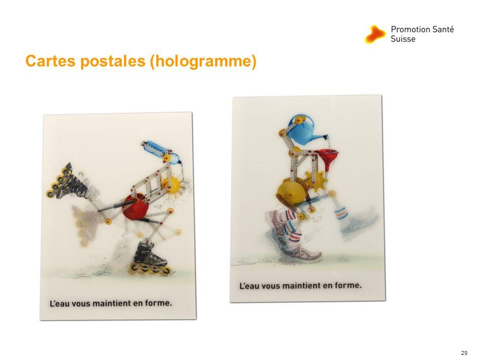 Cartes postales (hologramme) 29