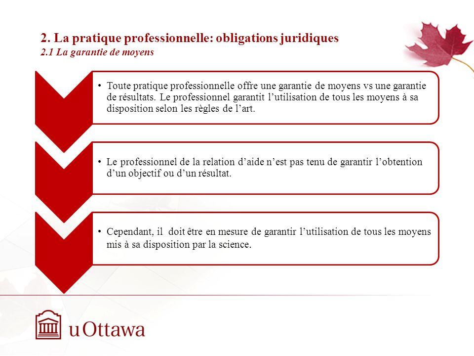 1. Du professionnalisme à la décision éthique 1.4 La perception de la pratique de counselling Semaine 2: Introduction à léthique professionnelle Sperr