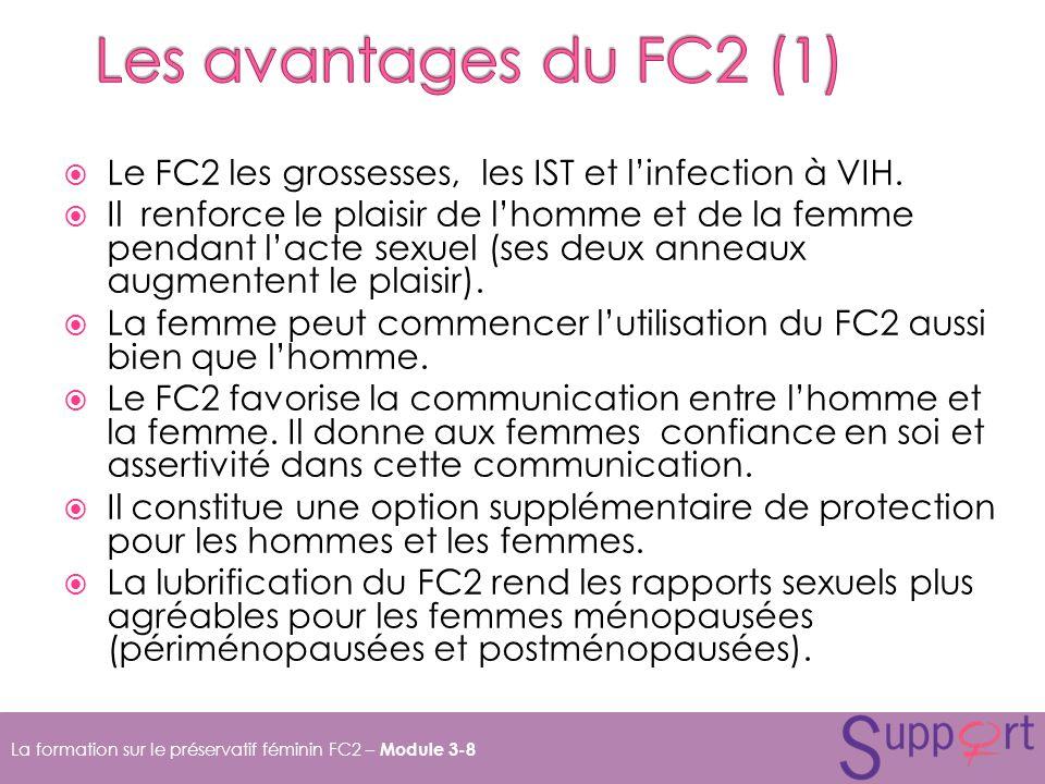 Le FC2 les grossesses, les IST et linfection à VIH.