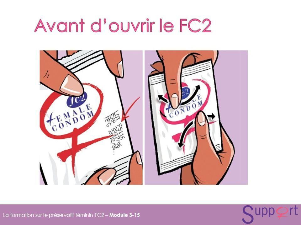 La formation sur le préservatif féminin FC2 – Module 3-15
