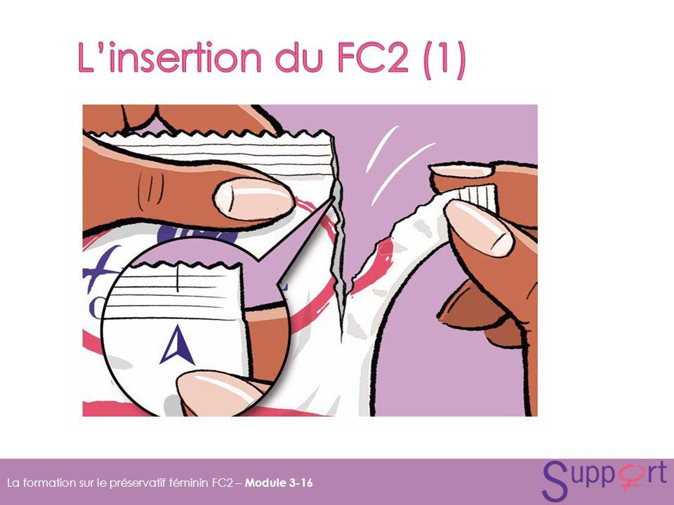 La formation sur le préservatif féminin FC2 – Module 3-16