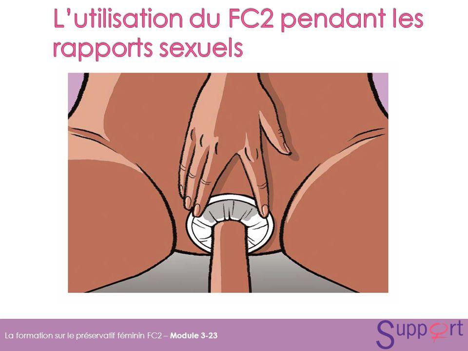 La formation sur le préservatif féminin FC2 – Module 3-23