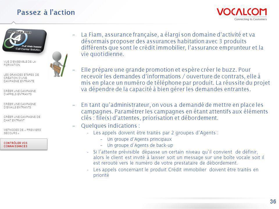 36 –La Fiam, assurance française, a élargi son domaine dactivité et va désormais proposer des assurances habitation avec 3 produits différents que son