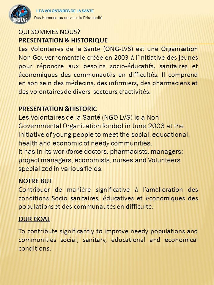 NOS PROJETS (OUR PROJECTS) -Yopougon Hélène Promotion Center - Hélène H.