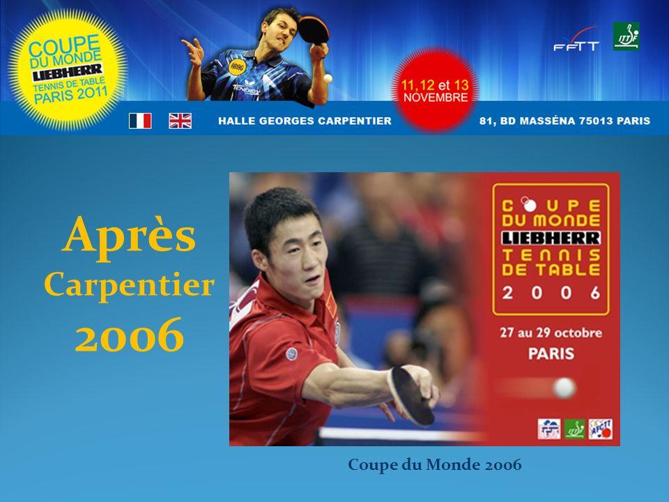 Après Carpentier 2006 Coupe du Monde 2006