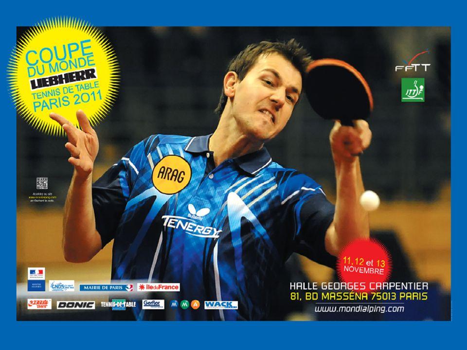 La Fédération Française de Tennis de Table est fière et ravie de vous proposer dassister à la: COUPE DU MONDE LIEBHERR du 11 au 13 novembre 2011 à Paris