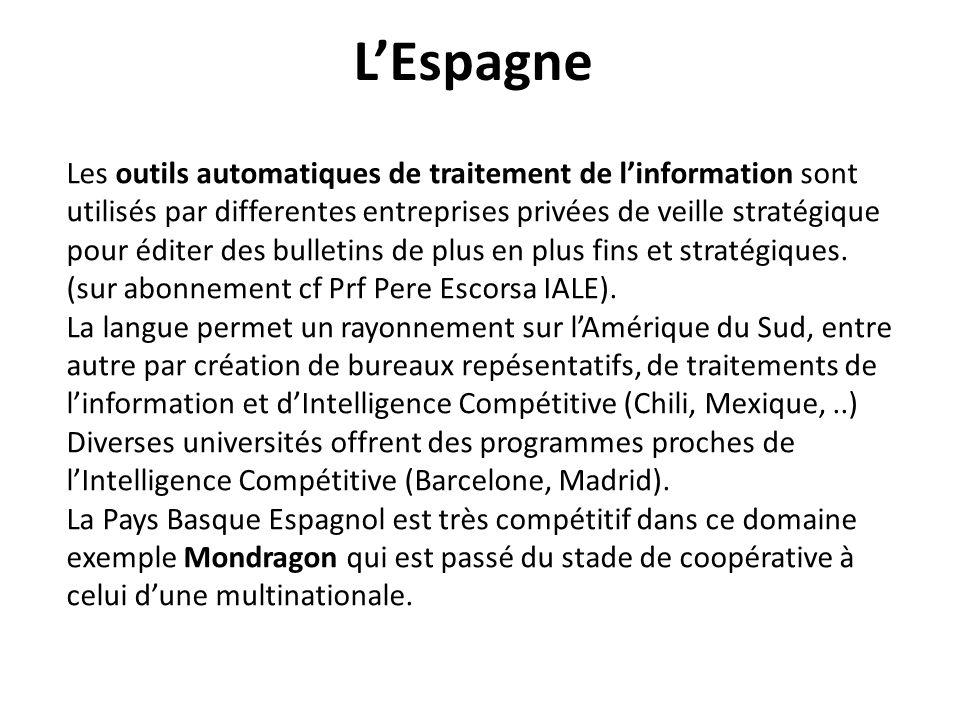 LESPAGNE, Exemple http://www.iale.es
