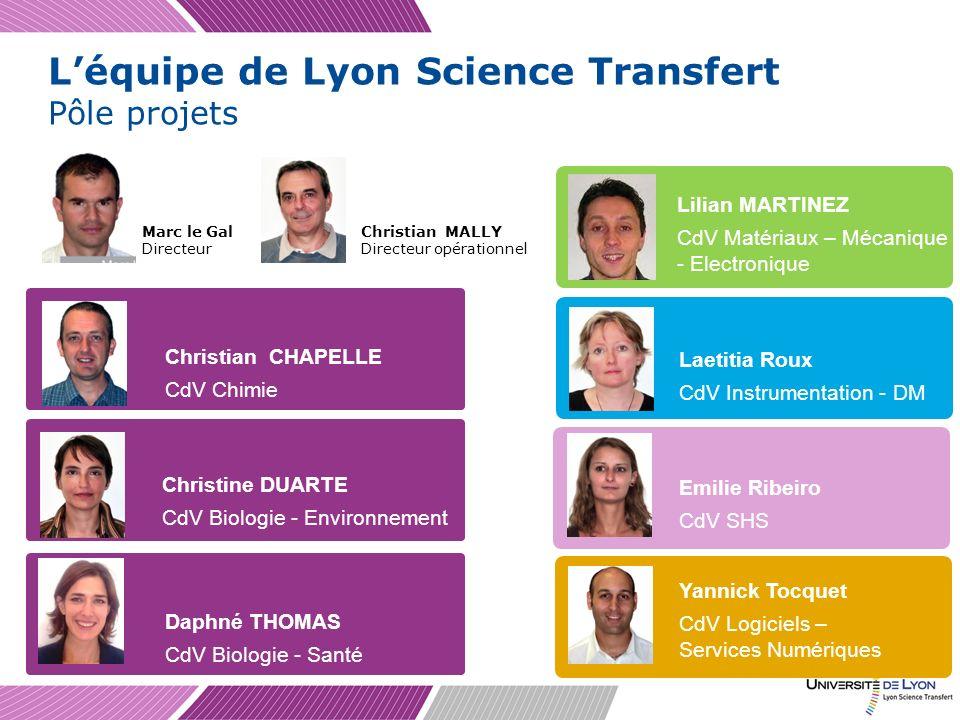 Création dune SATT Créer de la valeur et des emplois auprès des sociétés qui exploiteront et rentabiliseront des innovations issues du monde académique, en créant des Sociétés dAccélération du Transfert de Technologie (SATT) Forme juridique : Sociétés par Actions Simplifiée Capital : 1 M (1/3 Université de Lyon, 1/3 CNRS, 1/3 CDC) Dotation : 57 M