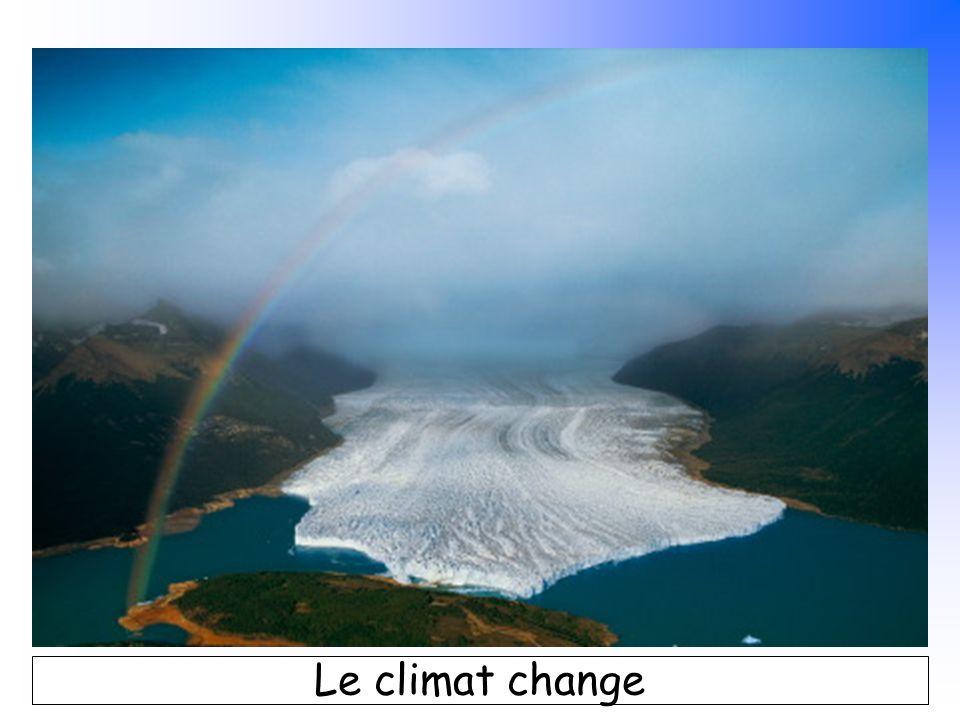 B. Pajot - mars 2007 Le climat change