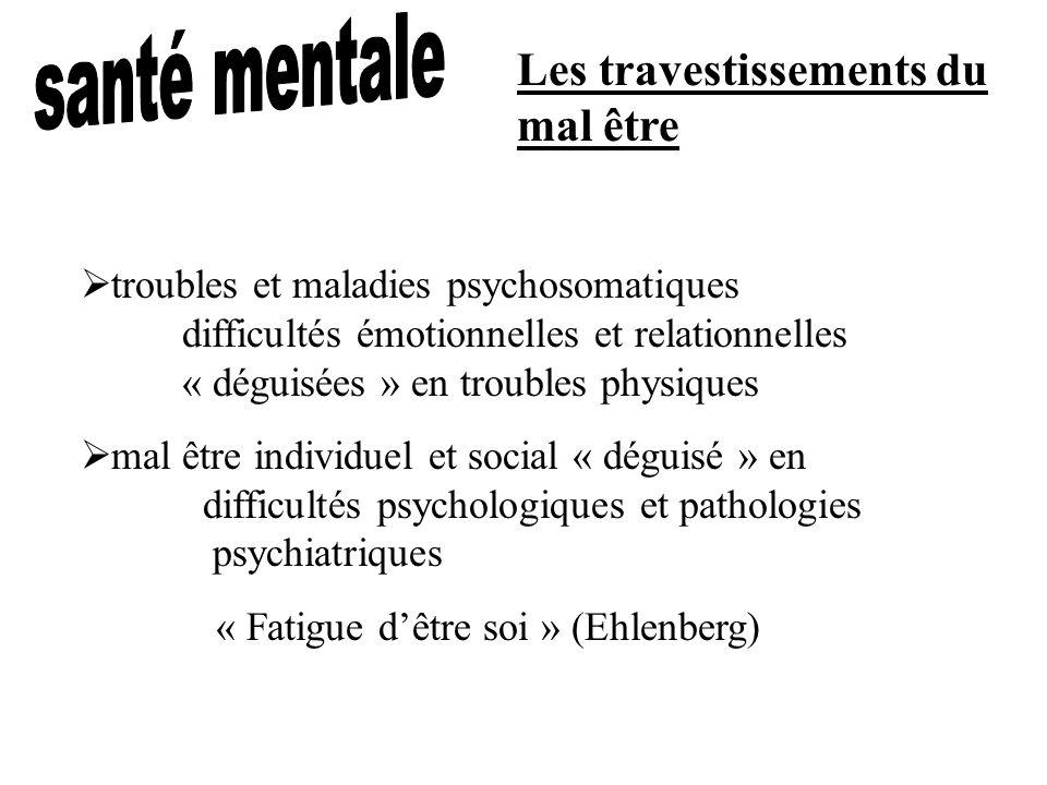 Les travestissements du mal être troubles et maladies psychosomatiques difficultés émotionnelles et relationnelles « déguisées » en troubles physiques