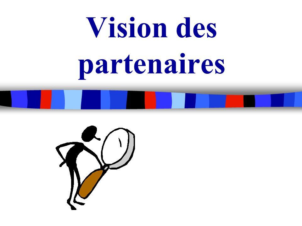 Vision des partenaires