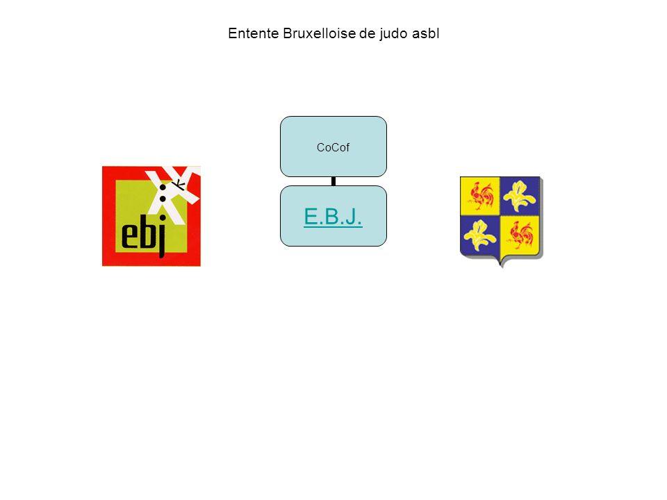 Entente Bruxelloise de judo asbl CoCof E.B.J.