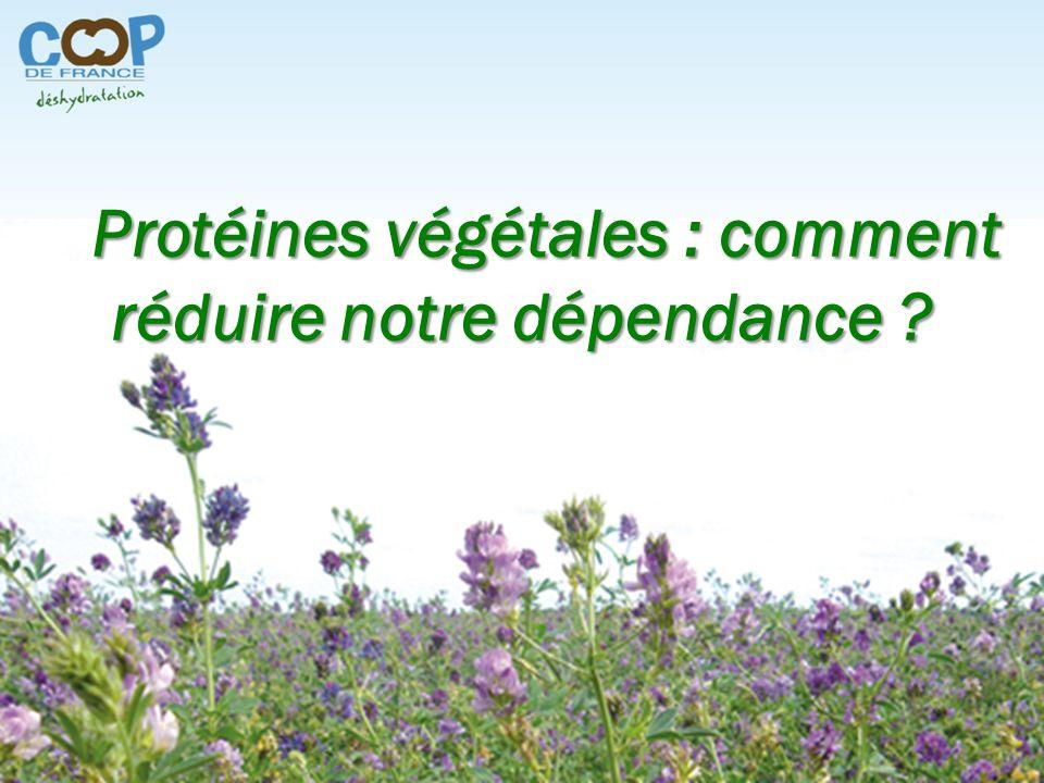 16 octobre 2013 – A.N. 1 Protéines végétales : comment réduire notre dépendance ?