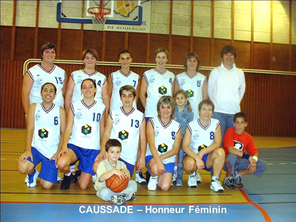 CAUSSADE – Honneur Féminin