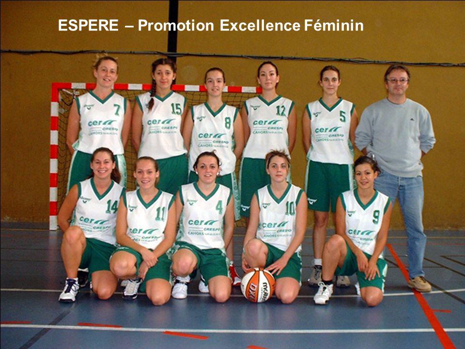 ESPERE – Promotion Excellence Féminin