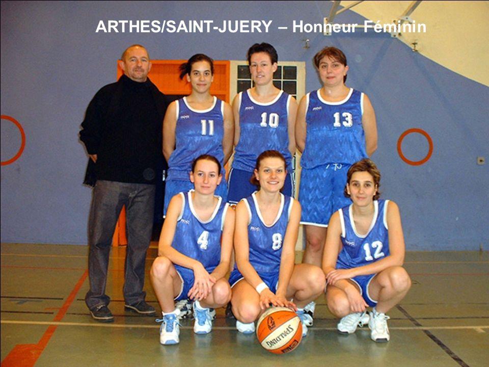 ARTHES/SAINT-JUERY – Honneur Féminin