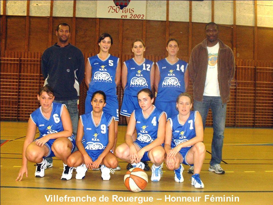 Villefranche de Rouergue – Honneur Féminin