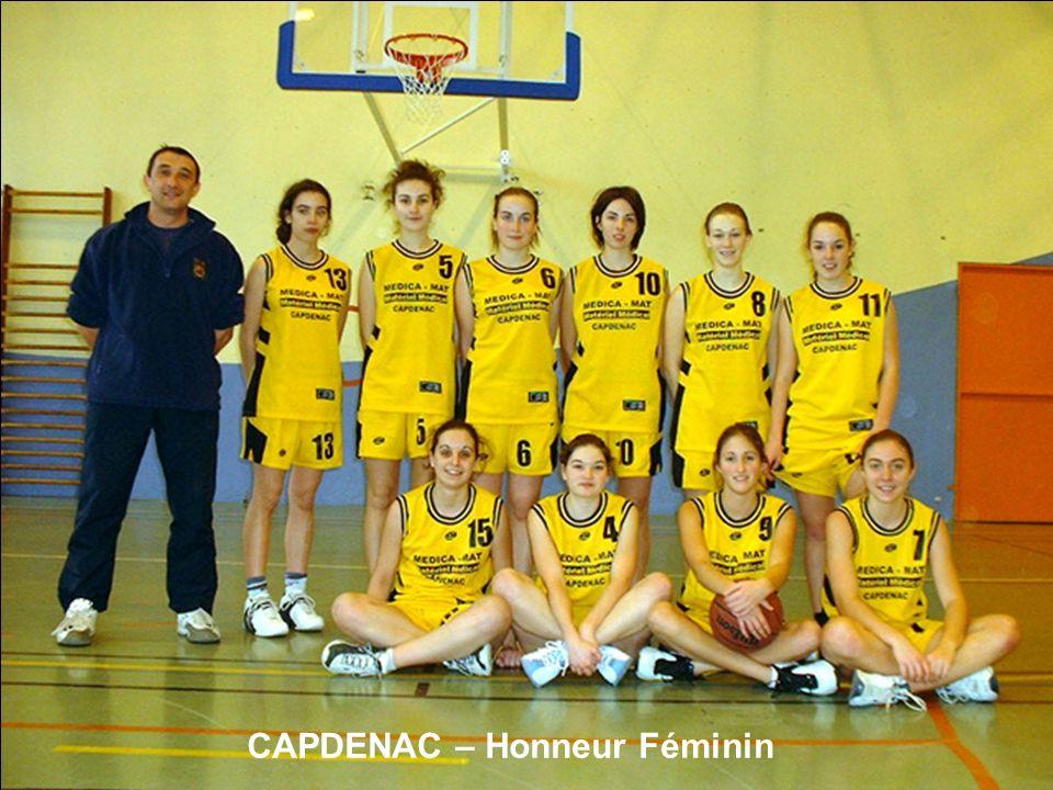 CAPDENAC – Honneur Féminin