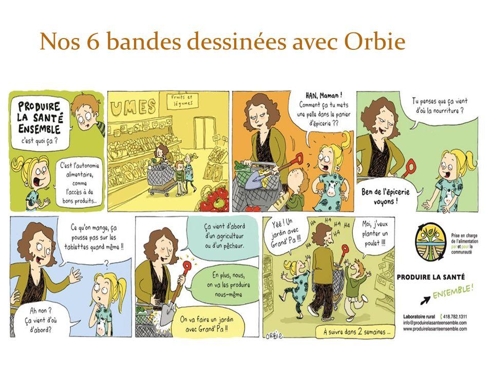 Nos 6 bandes dessinées avec Orbie