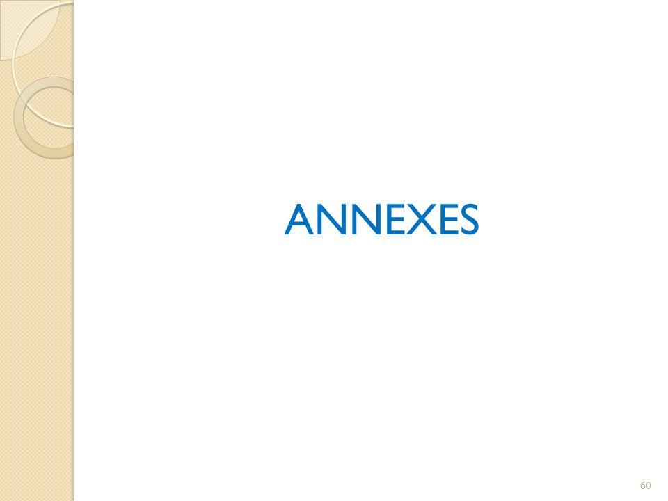 ANNEXES 60