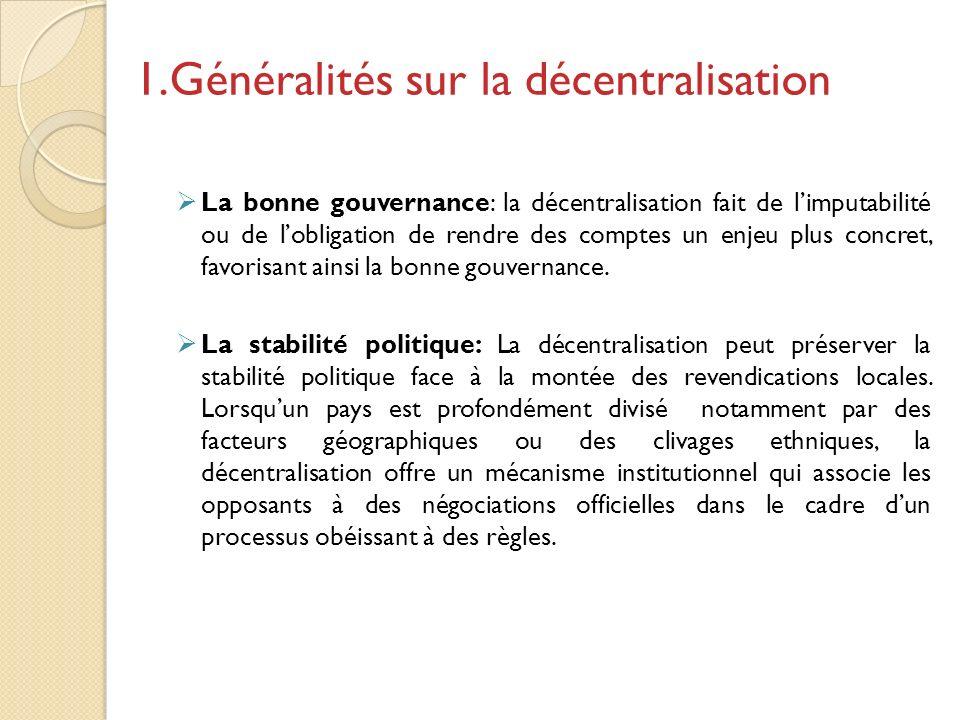 La décentralisation a véritablement commencé en Côte dIvoire en 1980 avec la création de 37 nouvelles communes et la promulgation des principaux textes de lorganisation Communale.