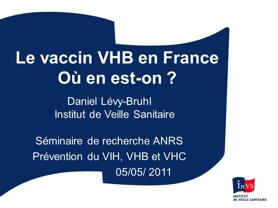 Nombre de transplantations pour hépatites B fulminantes - France, 1990-2003 Source: Registre Européen des greffes hépatiques (ELTR), Pr D Samuel