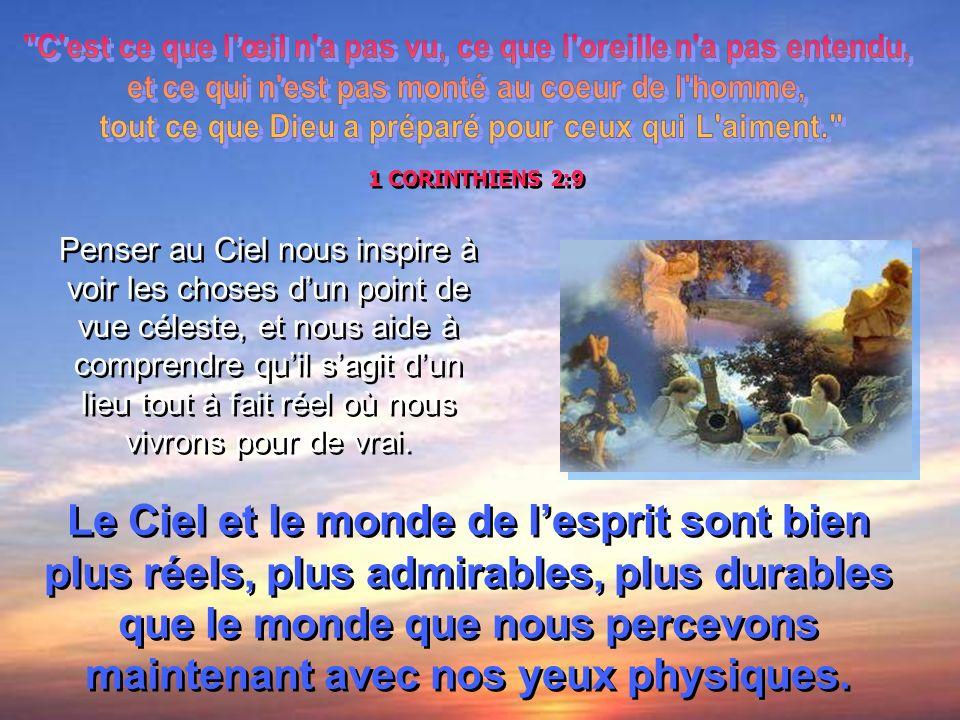 « La terre ne connaît point de chagrin que le Ciel ne puisse guérir. » THOMAS MOORE RÉFLEXIONS SUR LA VIE DANS LAU-DELÀ Allumez le volume !