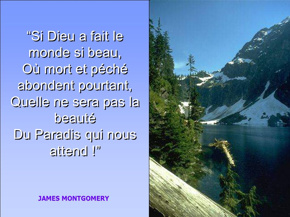 À lapproche de sa mort, John Newton sexclama: Je suis encore au pays des mourants; je serai bientôt dans celui des vivants. Il y a sur cette terre tan