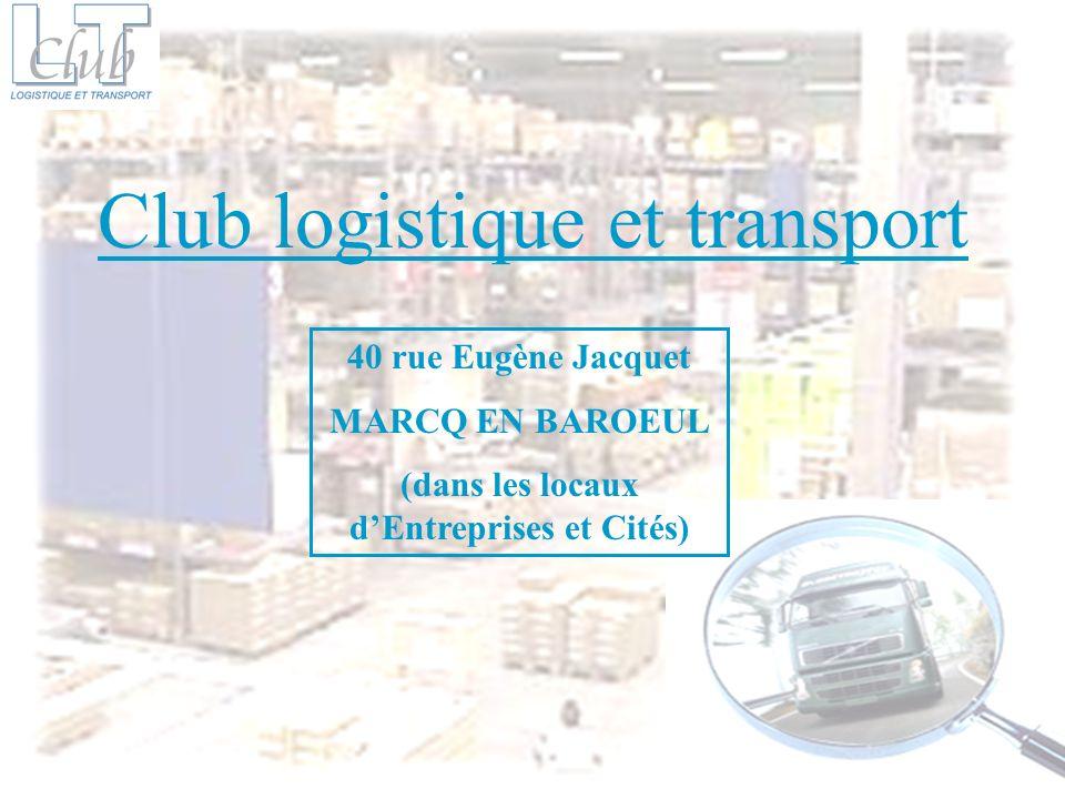 Créé en 1984 à linitiative de chargeurs désireux déchanger sur leurs problématiques transport, le club logistique et transport est aujourdhui fort de 180 membres.