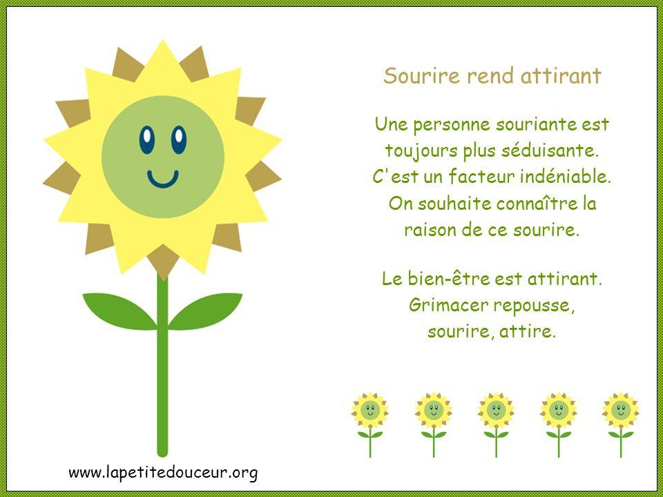 Nicole Charest © www.lapetitedouceur.org Cliquez pour avancer « Le bonheur est un choix, et sourire aide à le faire. » Mark Stibich