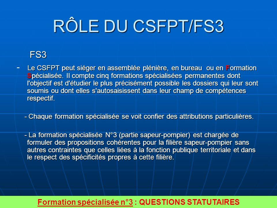 Quatre principes ont guidé la réflexion Propositions statutaires en adéquation avec les missions, la formation et lexpérience.