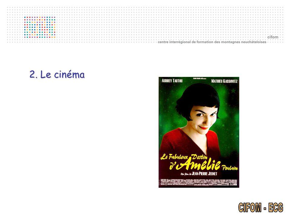2. Le cinéma