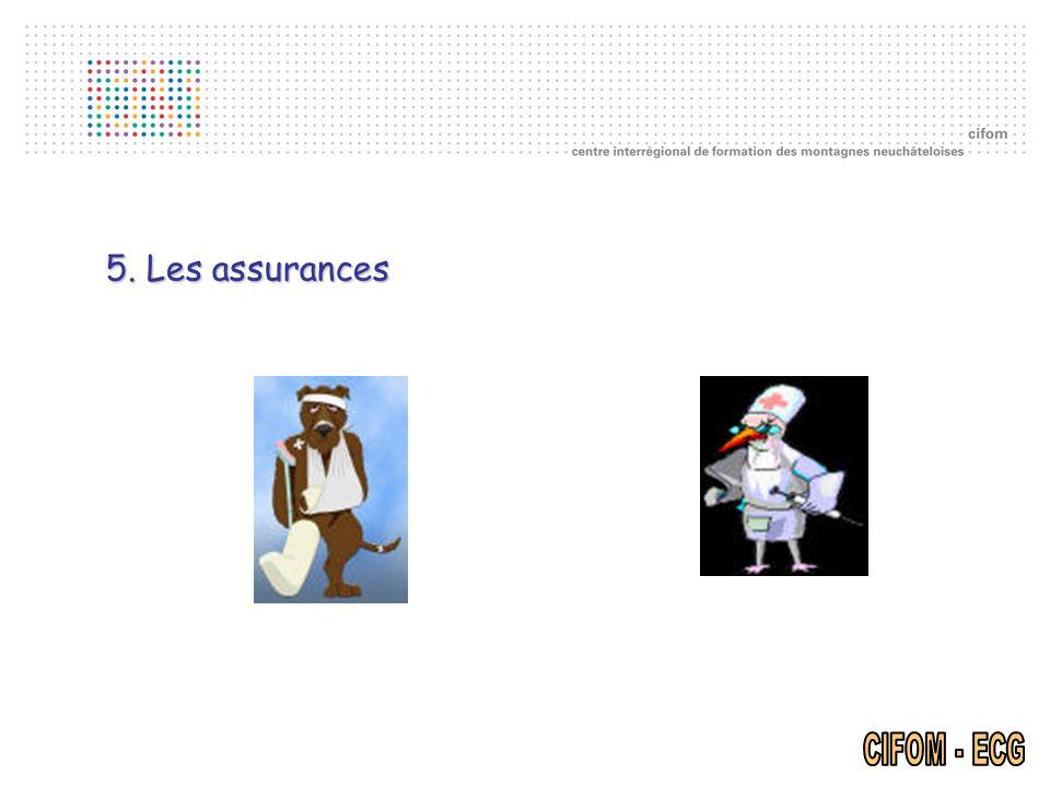 5. Les assurances