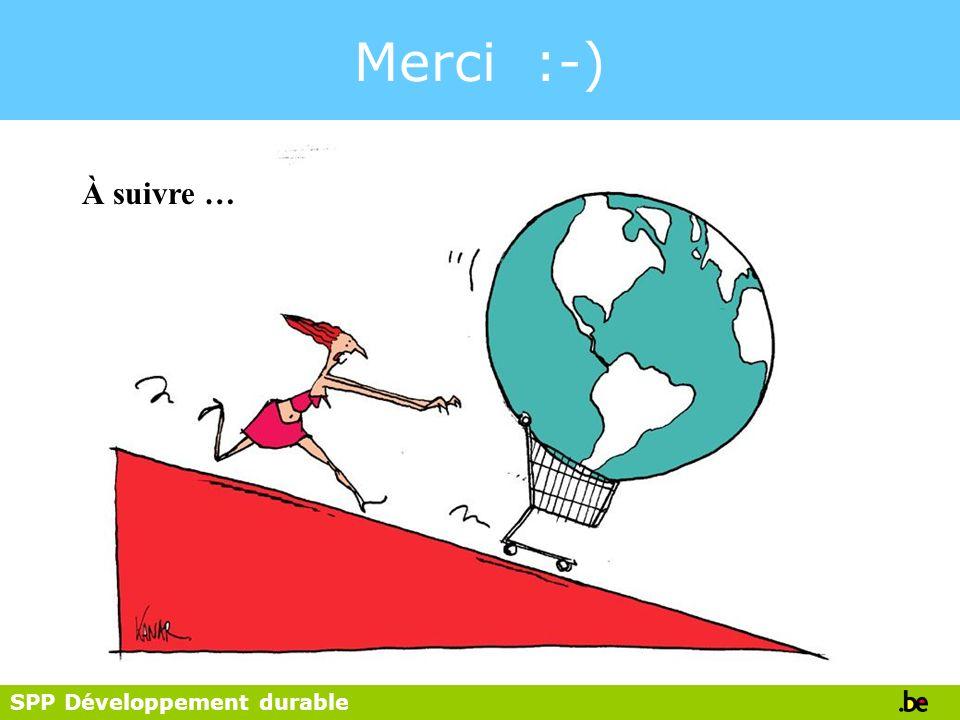 SPP Développement durable Merci :-) À suivre …