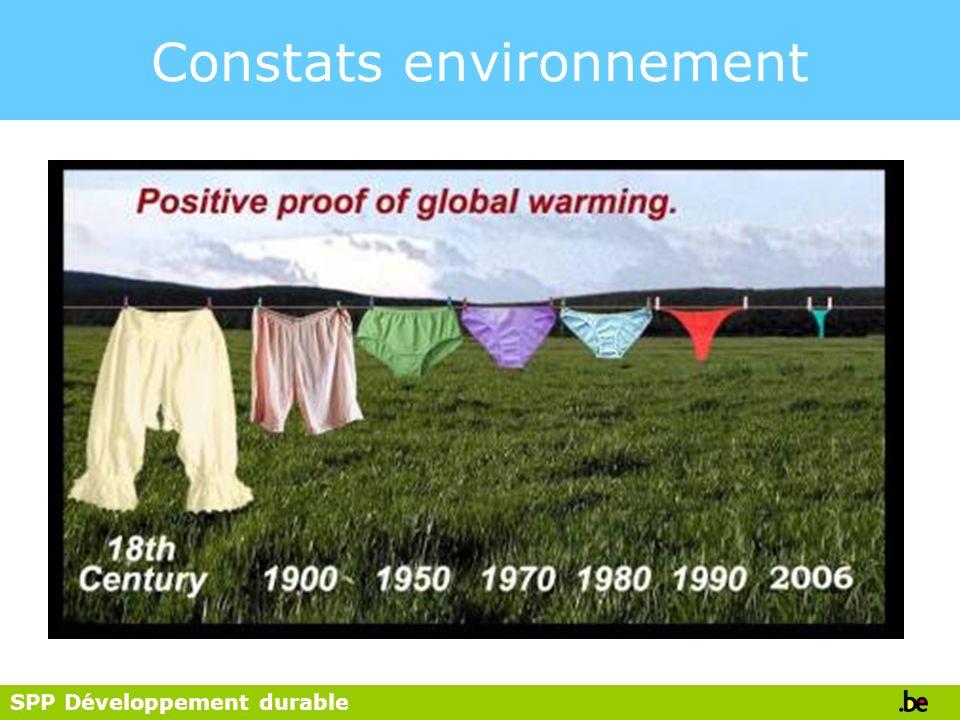 SPP Développement durable Bien-être et avoirs