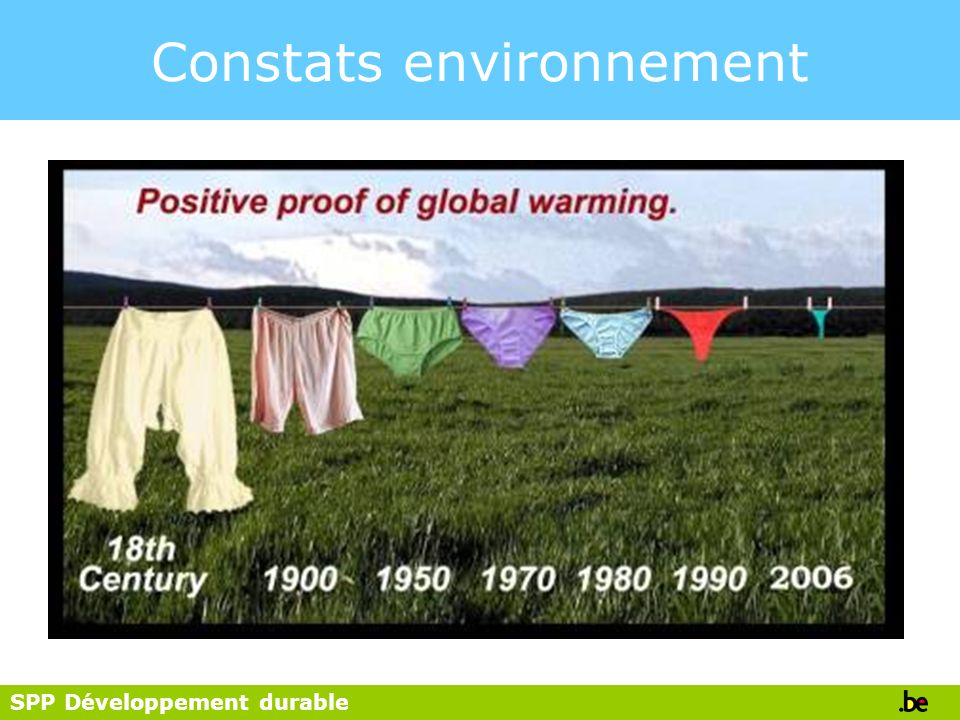SPP Développement durable Is Duurzame Ontwikkeling Nodig.