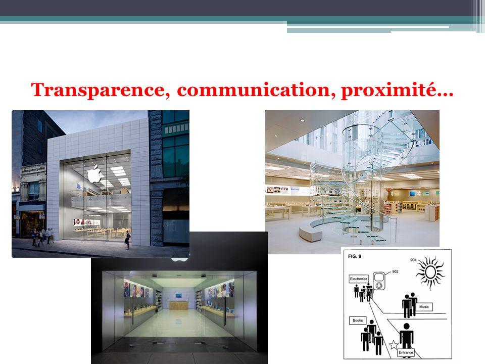Transparence, communication, proximité…