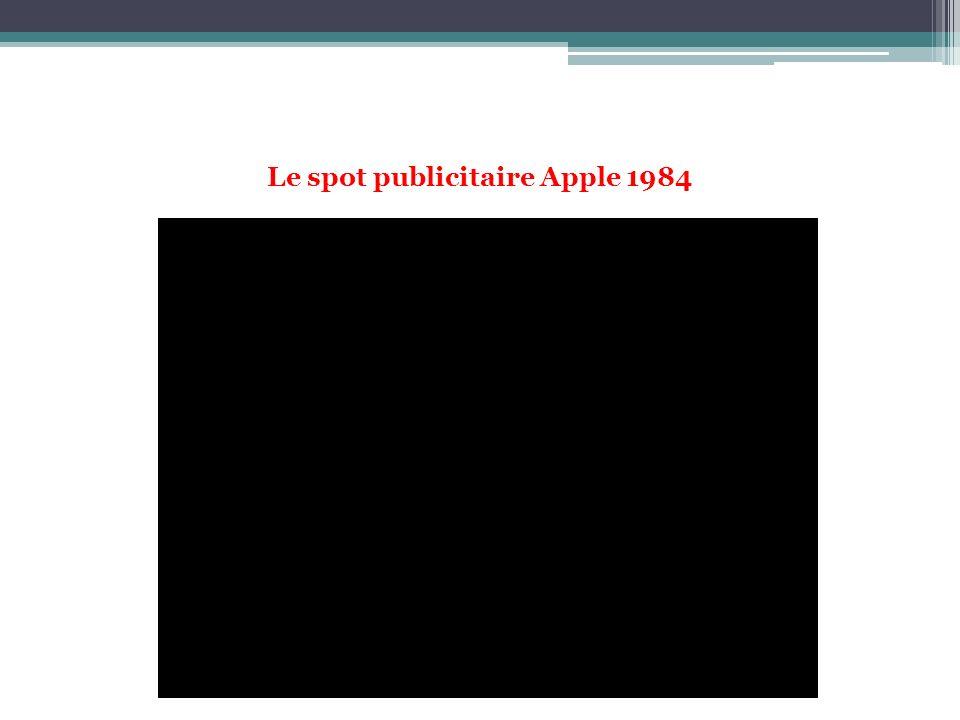 Le spot publicitaire Apple 1984