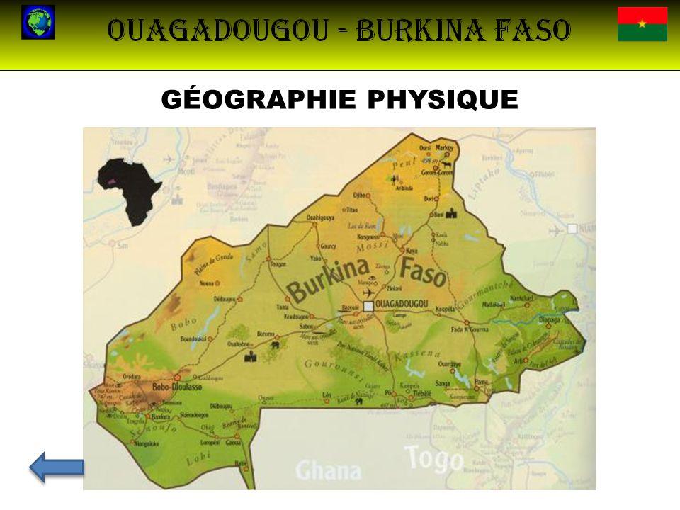 LA CAPITALE : OUAGADOUGOU Population1 475 223 (2006) Densité526 hab./km² RégionCentre ProvinceKadiogo DépartementOuagadougou Nom des habitantsOuagalais – Ougavillois Maire actuelSimon Compaoré depuis 1995 Ouagadougou est la capital du Burkina Faso et la plus grande ville du pays.