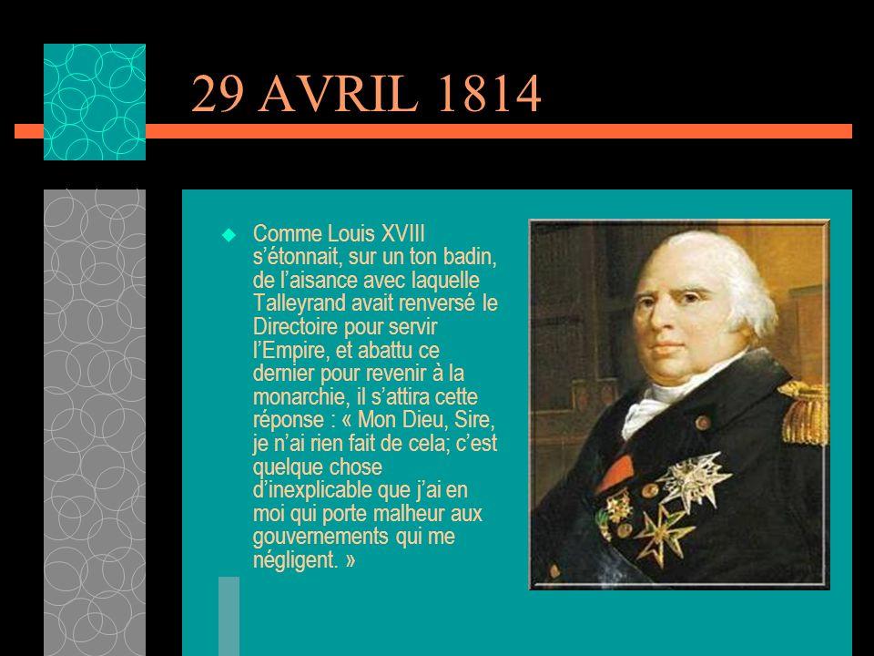 LE CONGRES DE VIENNE Malgré la défaite militaire de Napoléon, il permit à la France de tenir une place prépondérante dans le concert des nations. Si c