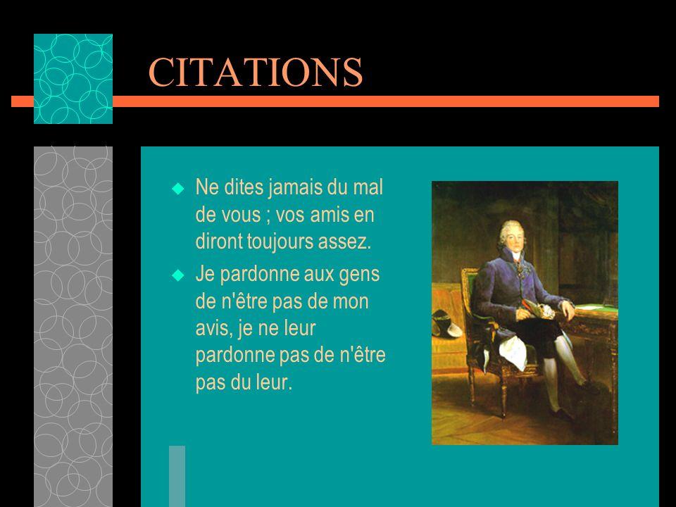 VICE GRAND ELECTEUR Apprenant la promotion de Talleyrand comme Vice-Grand Electeur, Fouché fit un mot : « C est le seul vice qui lui manquât.