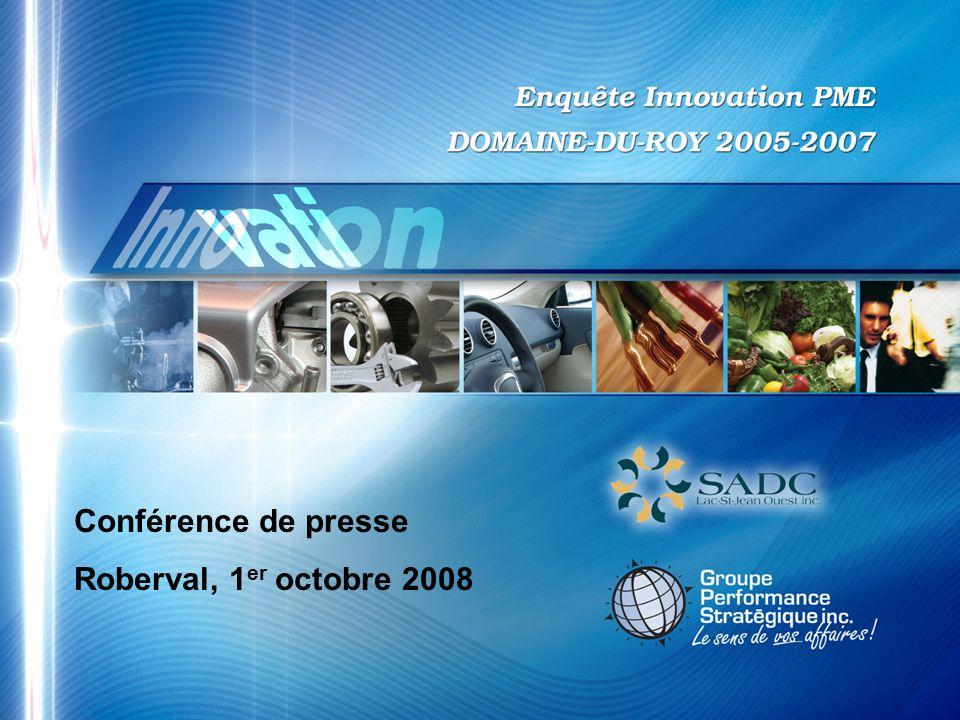 Conférence de presse Roberval, 1 er octobre 2008