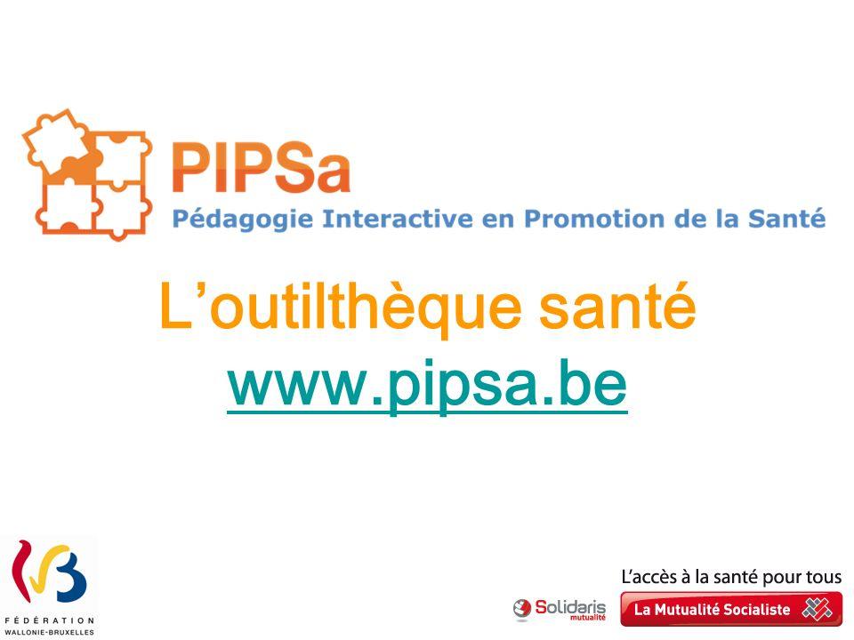 Loutilthèque santé www.pipsa.be www.pipsa.be