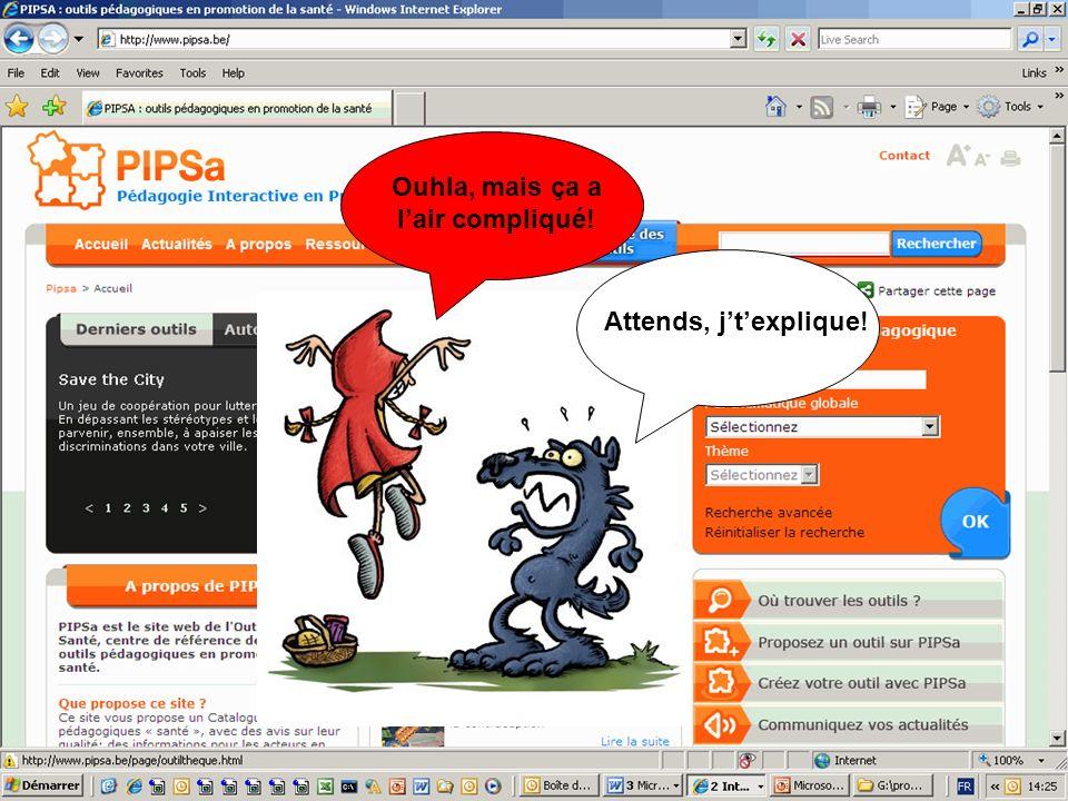 Le site internet Ouhla, mais ça a lair compliqué! Attends, jtexplique!