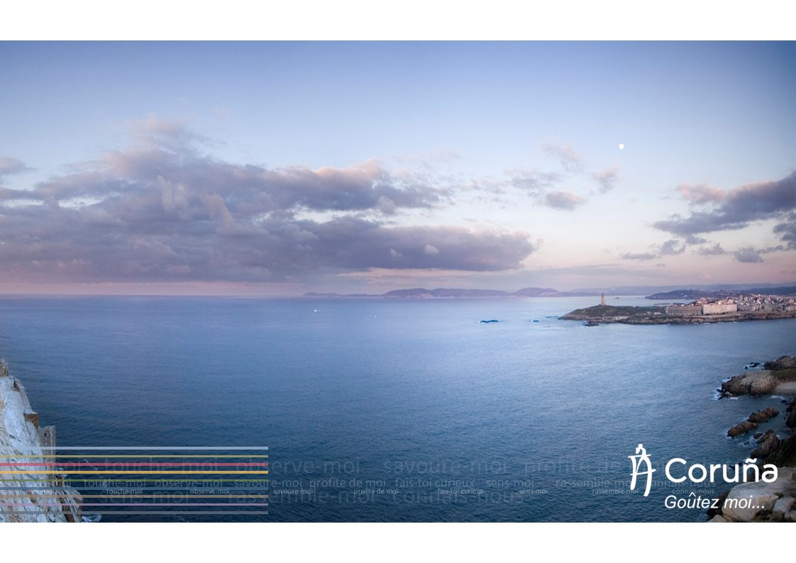 A Coruña est un océan de sensations dont seulement ceux qui sapprochent de la ville seront capables de profiter.