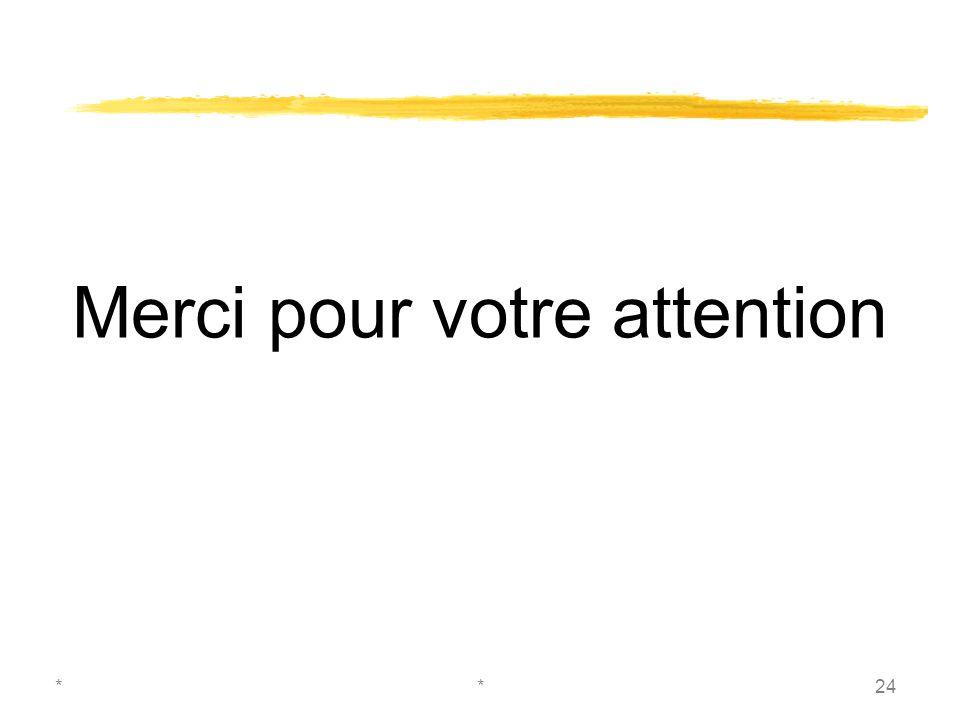 **24 Merci pour votre attention