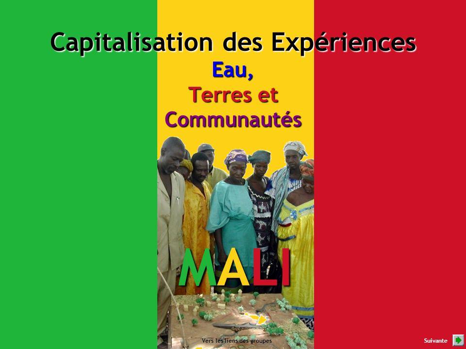 MALI Vers les liens des groupesSuivante Capitalisation des Expériences Eau, Terres et Communautés