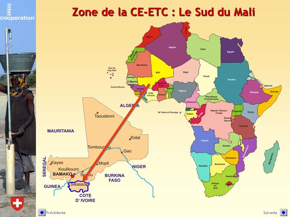 Zone de la CE-ETC : Le Sud du Mali SuivantePrécédente